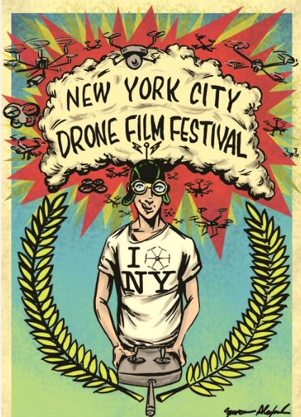 New York City Drone Film Festival poster