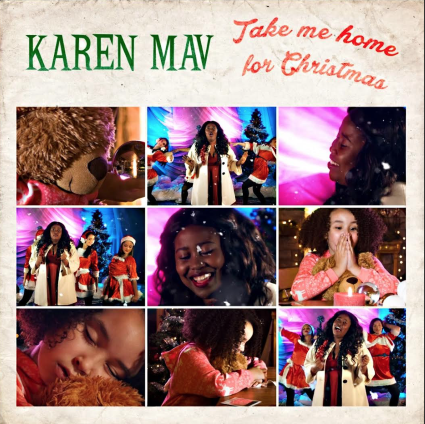 Karen Mav Take Me Home For Christmas album