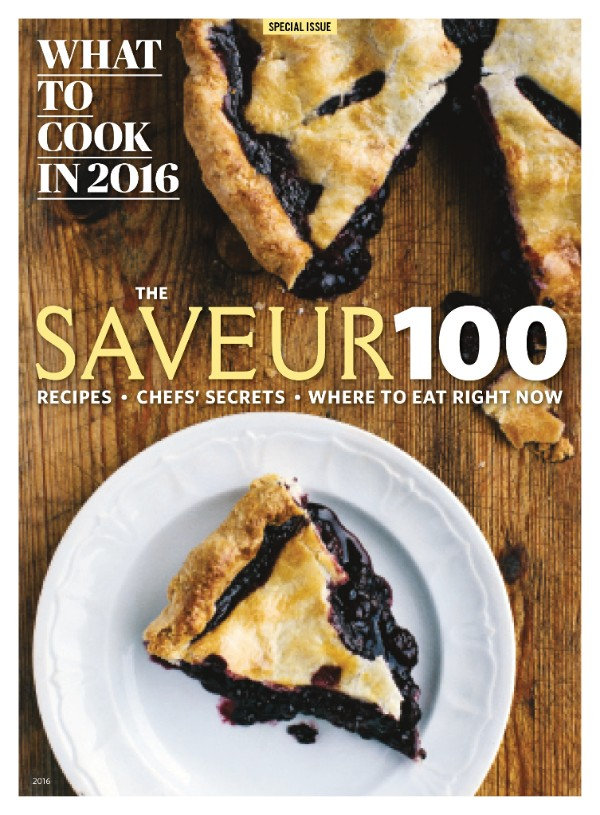 Saveur 100 2016 cover