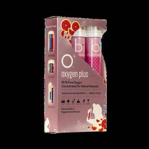 O Oxygen Pink Grapefruit flavor