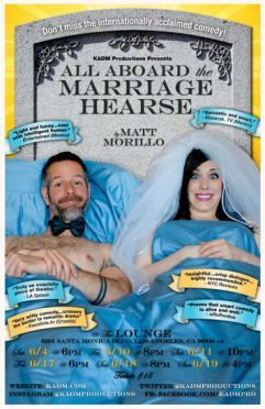 all aboard the marriage hearse gia on the move tracey paleo theatre reviews hollywood fringe