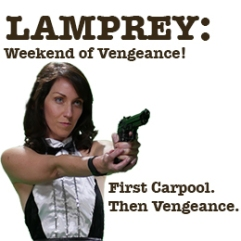 lamprey weekend of vengeance theater reviews tracey paleo sacred fools theatre company