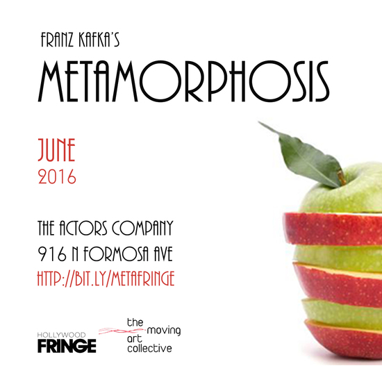 metamorphosis theatre reviews tracey paleo hollywood fringe festival