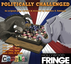 politically challenged gia on the move theatre reviews tracey paleo hollywood fringe festival