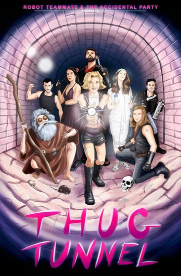 thug tunnel gia on the move theatre reviews benjamin schwartz hollywood fringe festival