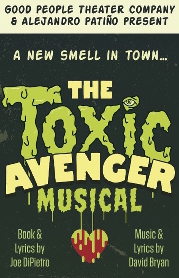 toxic avenger musical gia on the move theatre reviews benjamin schwartz