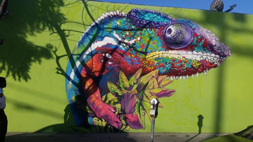 Hansen natural soda graffiti