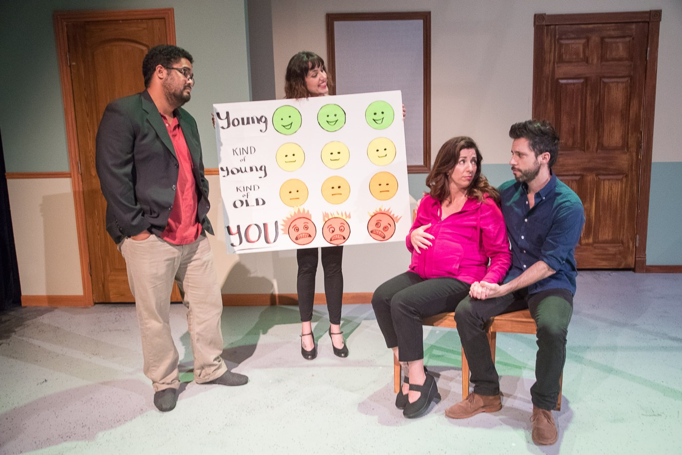 life expectancy a comedy in 3 trimesters gia on the move theatre reviews