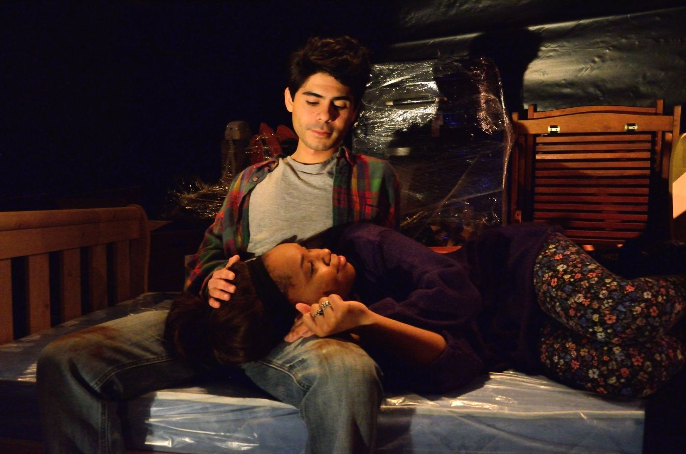 rod hernandez and farella charmee taylor that long damn dark red cup theatre