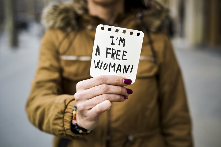 i am a free woman international womens day
