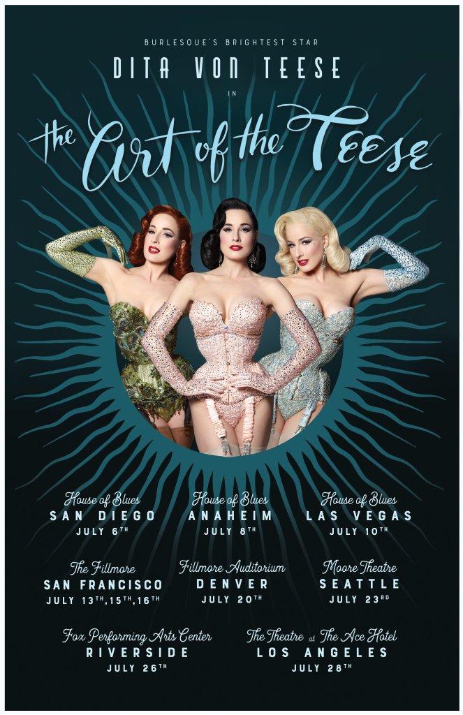 dita von teese burlesque tour