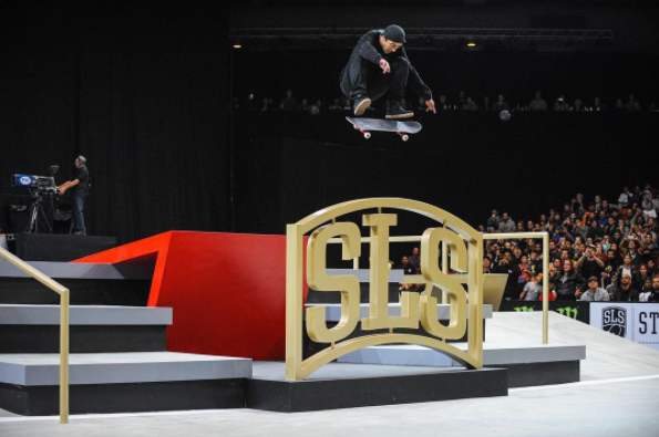 street league skateboarding nike world tour
