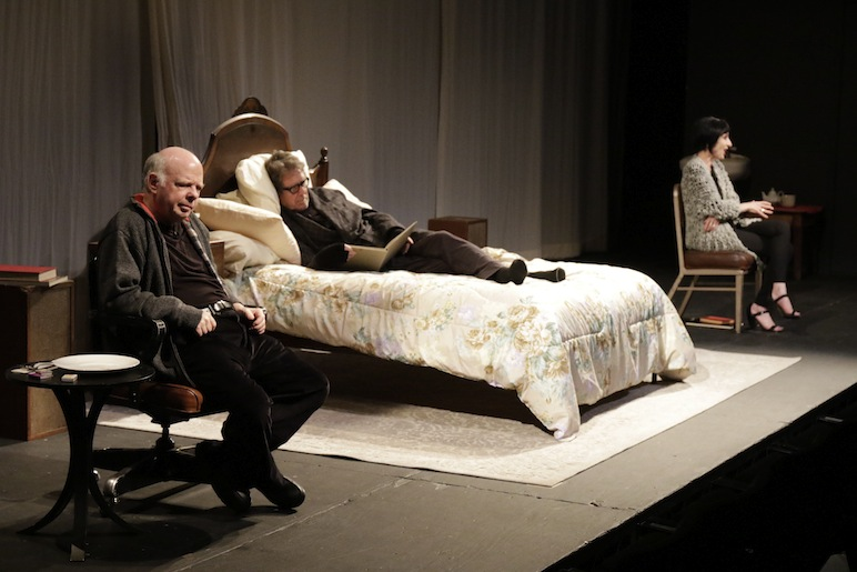 the designated mourner wallis shawn deborah eisenberg larry pine redcat theater