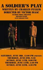 a soldiers play african american drama