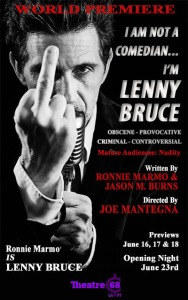 im lenny bruce poster theatre 68