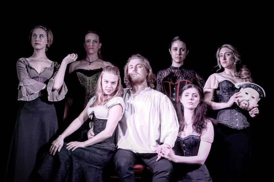 ladies in waiting the judgement of henvry VIII theater review hollywood fringe