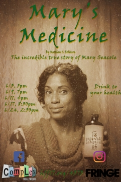 mary seacole hollywood fringe theater review marys medicine