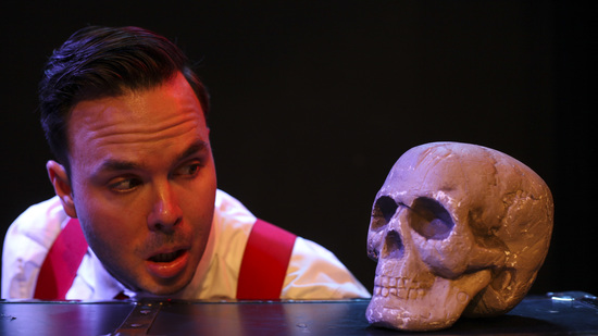 roughly hamlet theater review hollywood fringe festival