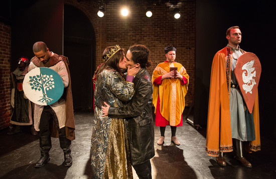 the faggot king or the troublesome reign of edward II hollywood fringe festival theater review