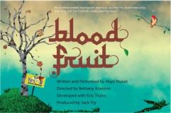 Blood Fruit poster Hollywood Fringe Festival