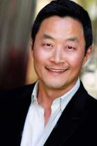 Korean-American actor Steve Park