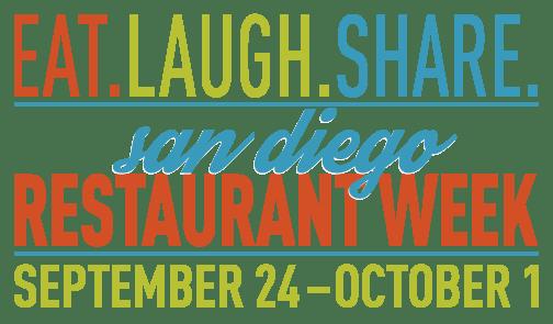 San Diego restaurant week 2017 logo