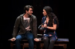 Rustin Cole Sailors and Amanda Leigh Jerry in South Coast Repertory's 2017 production of ONCE