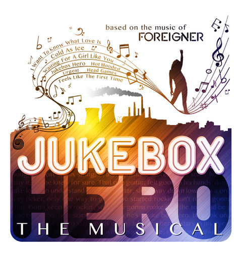 FOREIGNER Jukebox Hero musical poster