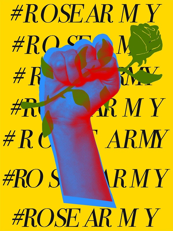 Rose Army Rose McGowan