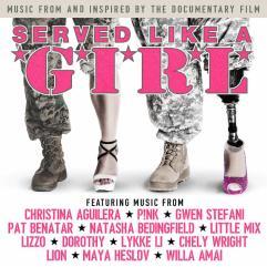 served like a girl female veterans documentary poster