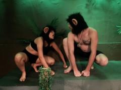 Martha Constantine as Outside Female Tyler Fairbank as Alpha Male in Social Darwinism