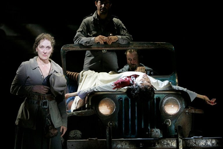 Meryl Streep Mother Courage
