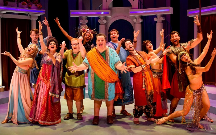 cast of A Funny Thing Happened on the Way To The Forum