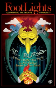 Mr Burns a post electric play show cover
