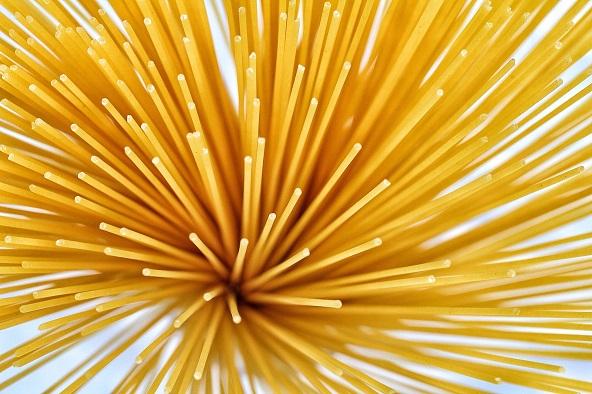 spaghetti macro photography