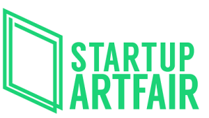 start up art fair logo