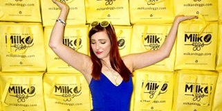 Order online and get this bag (sorry girl not included). (Photo provided by Milk and Eggs)