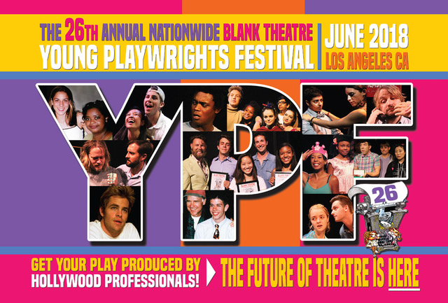 Blank Theatre Young Playwrights Festival submission