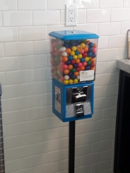 Don't forget your gumball!