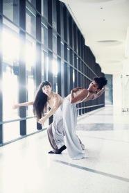 Dancers Himerria Wortham & Teresa Barcelo in 'Once in a Whale' Photo: Lee Gumbs