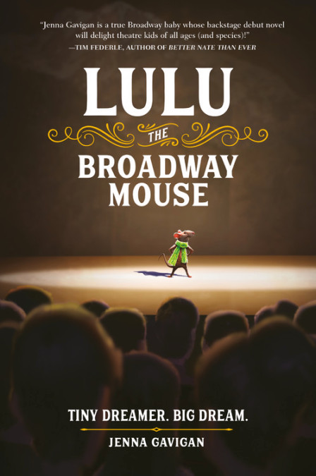 Lulu The Broadway Mouse children book