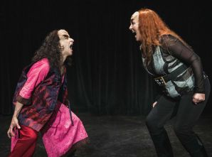 Gia On The Move, Tracey Paleo, theater reviews, Klingon Tamburlaine, Hollywood Fringe Festival