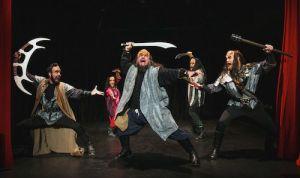 Gia On The Move, Tracey Paleo, theater reviews, Klingon Tamburlaine, Hollywood Fringe Festival