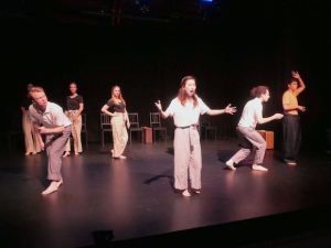 Gia On The Move, Tracey Paleo, theater reviews, Hollywood Fringe Festival, Scarlett Fever