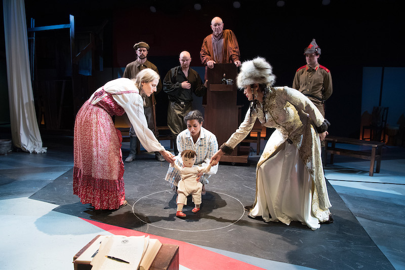 Gia On The Move, Tracey Paleo, theater reviews, The Caucasian Chalk Circle, Antaeus Theatre Company