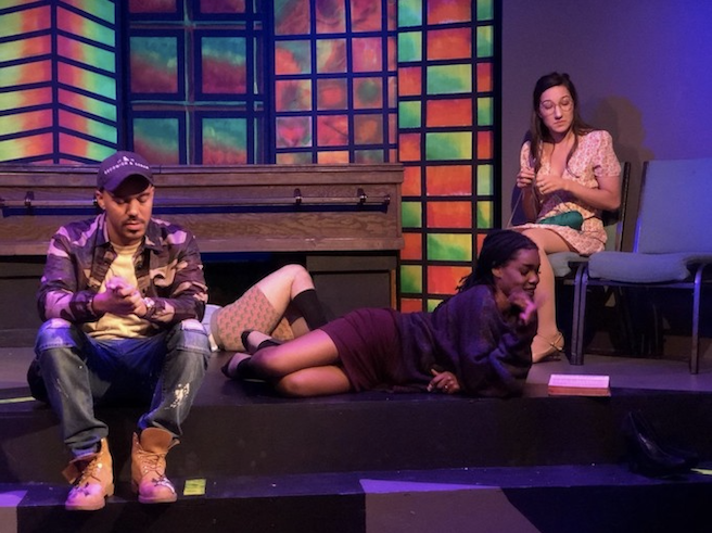 Gia On The Move, Tracey Paleo, theater review, Our Lady of 121st Street, Loft Ensemble, Los Angeles