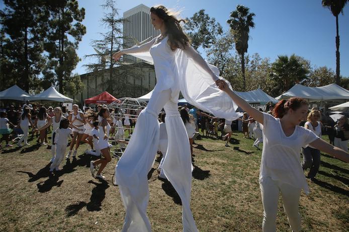Gia On The Move, Tarfest, Los Angeles, Art & Music festival