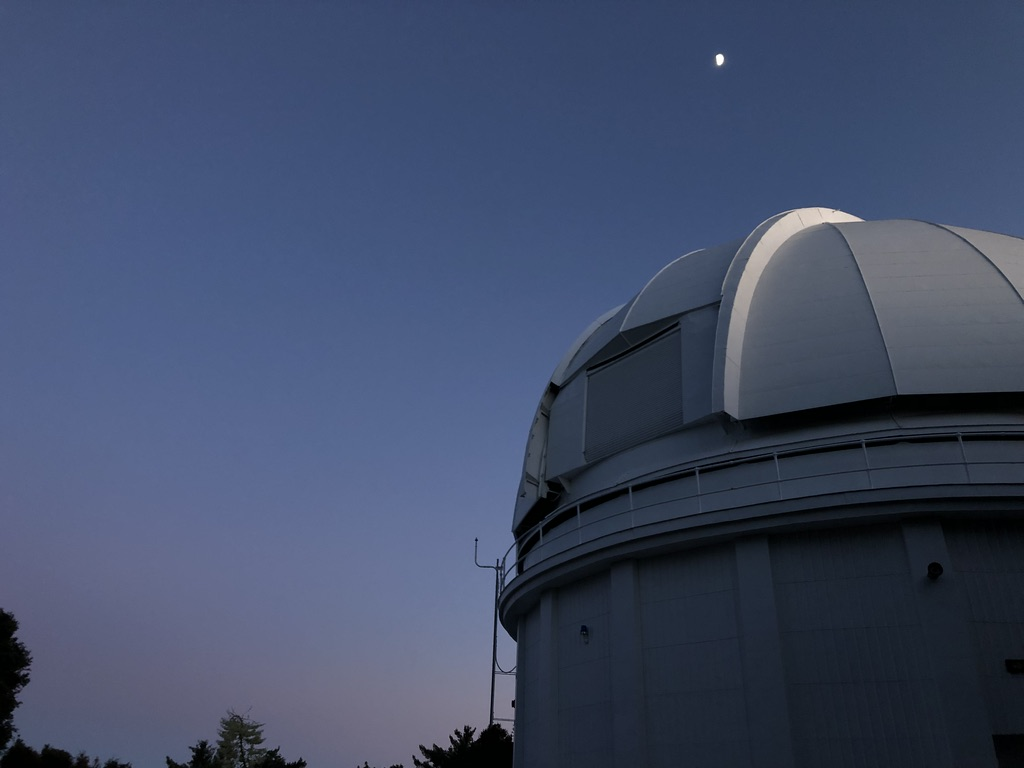 Mt. Wilson 60-inch telescope at night