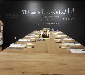 Gia On The Move, Tracey Paleo, beauty, reviews, Fresh Face, Mandi Nyambi, Flower School Los Angeles