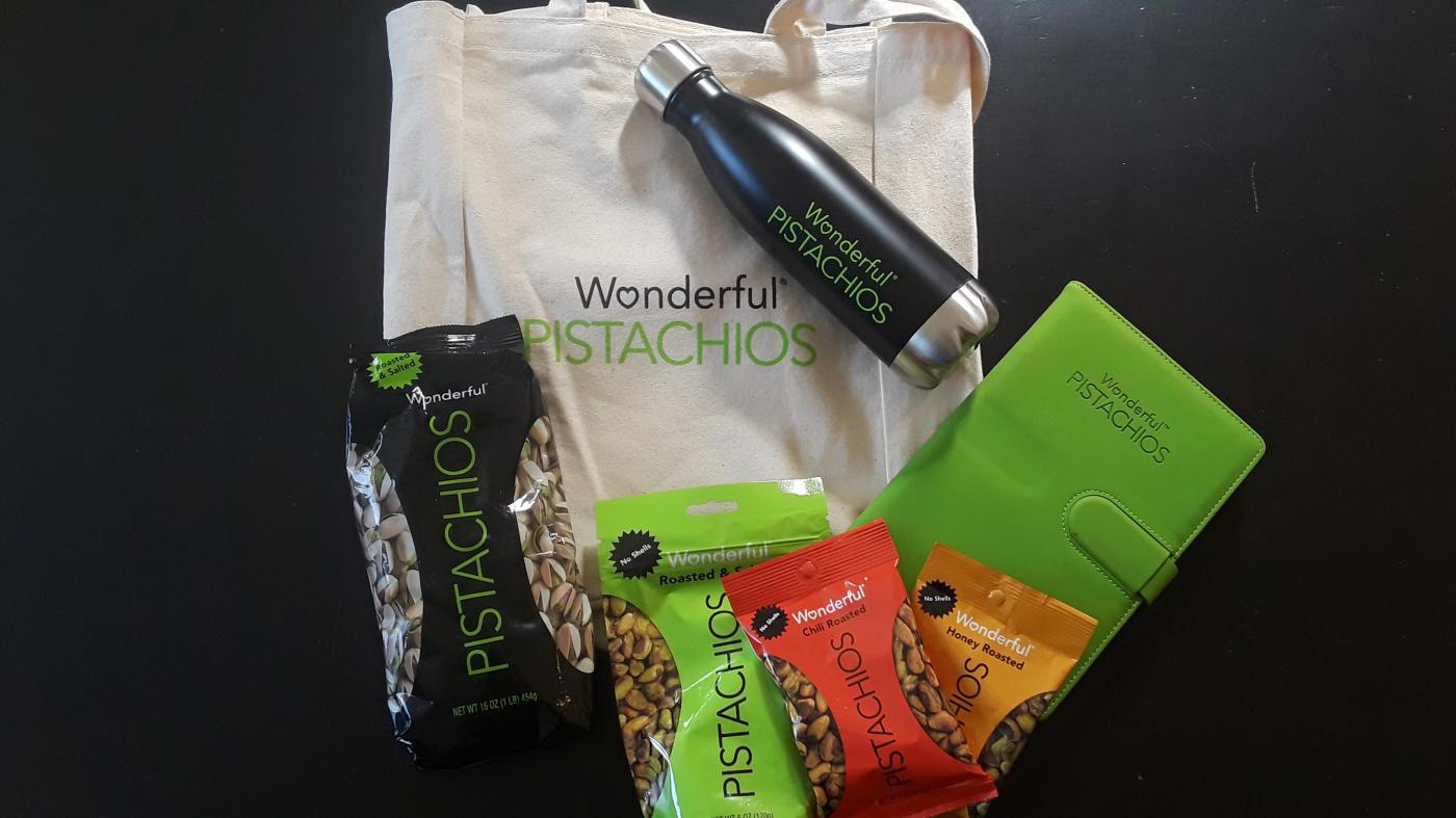 Gia On The Move, Tracey Paleo, Wonderful Pistachios, food reviews, Trainer Republic